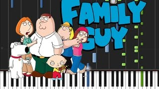 Family Guy - Main Theme [Piano Tutorial] (♫)