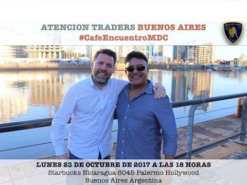 Invitación Café Encuentro de Trading en Buenos Aires / MDC Capital Group