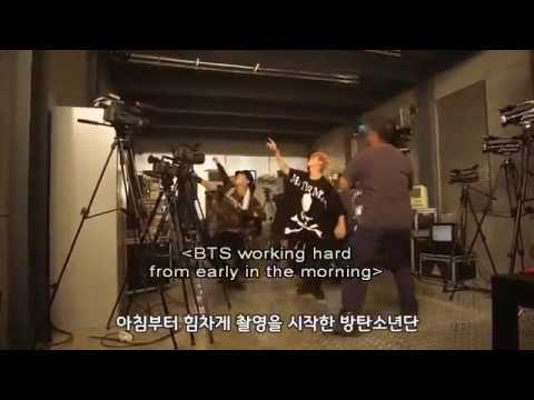 BTS Memories 2017 Mic Drop Remix MV Making Film