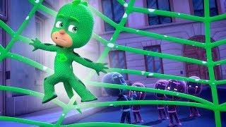 PJ Masks Deutsch Pyjamahelden 🕸 Das Grüne Netz 🕸 Cartoons für Kinder