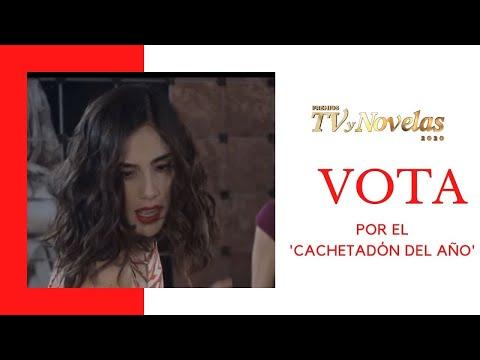 ¡Vota por el 'Cachetadón del Año' de los Favoritos del Público de los Premios TVyNovelas 2020!
