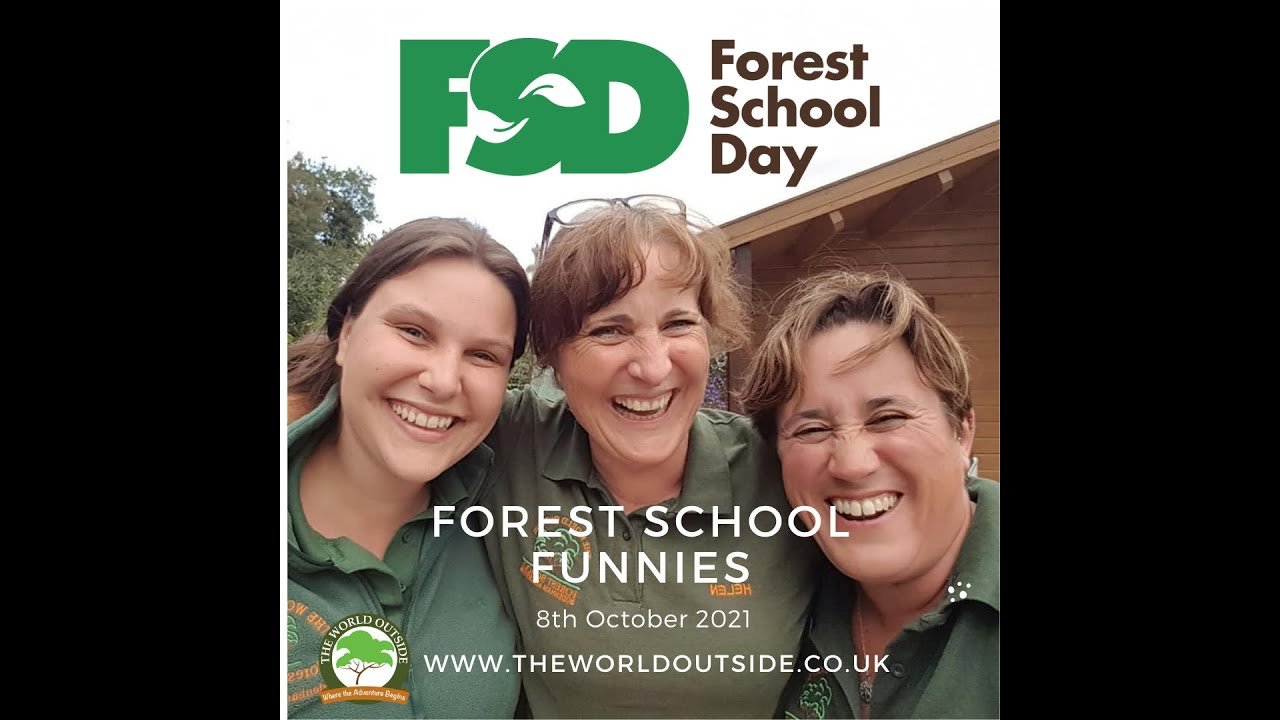 Celebrating Forest School with all the staff and Customers of the World Outside!