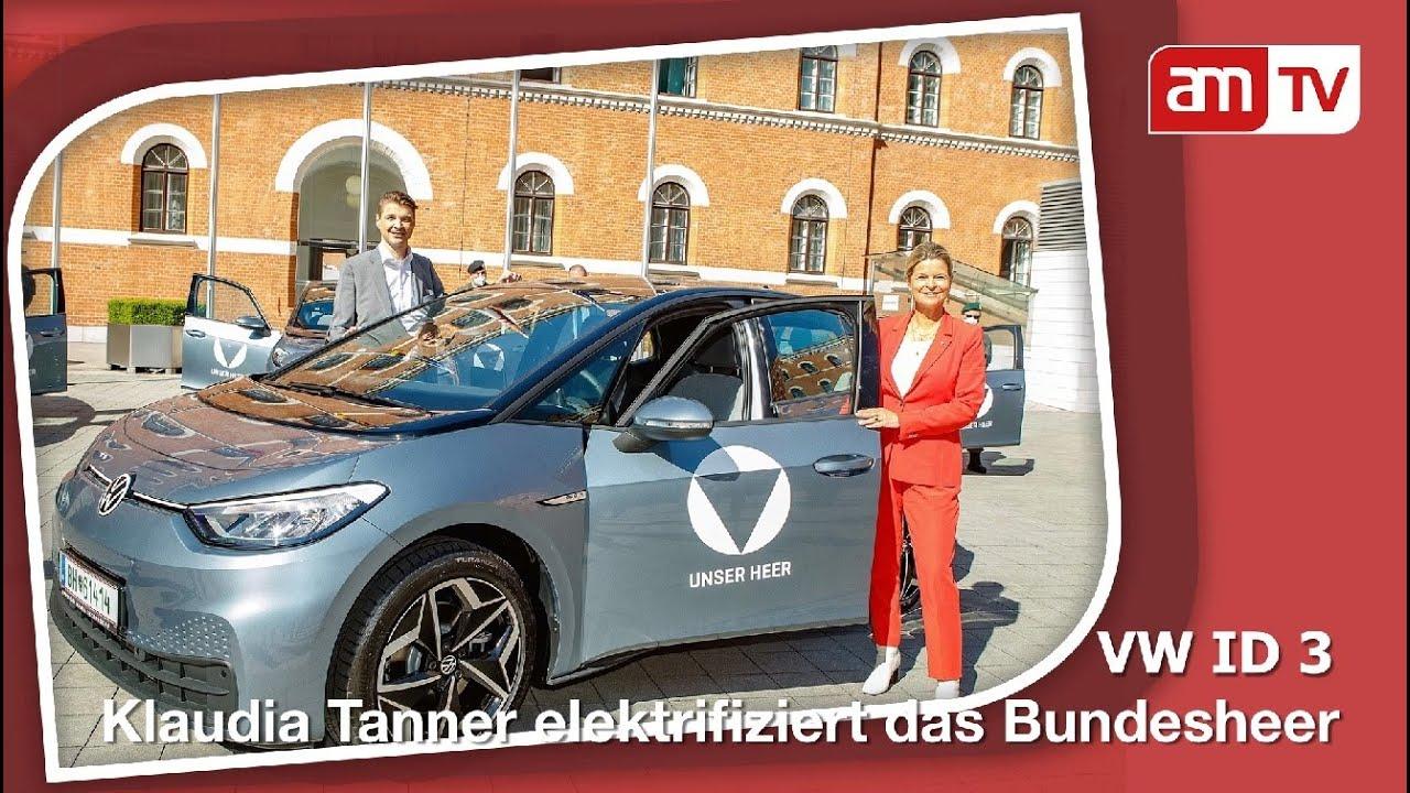 VW ID3 beim Bundesheer