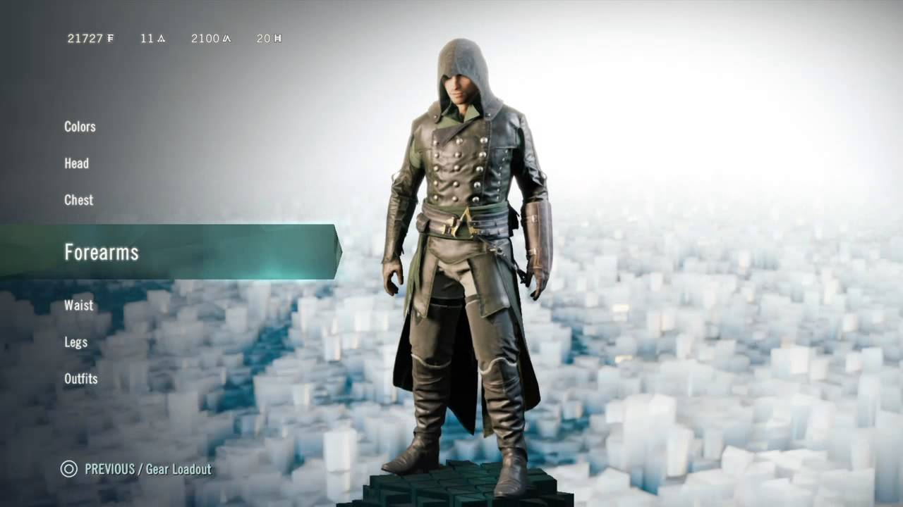 Assassin S Creed Unity Outfits The Ninja Youtube