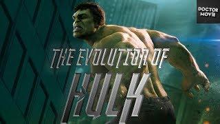 Эволюция Халка в кино и мультфильмах | Evolution of the Hulk
