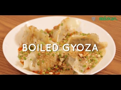 Boiled Gyoza (Mizkan Asia Pacific Official Channel)
