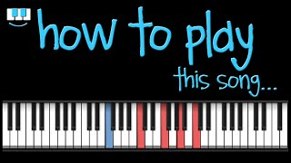 PianistAko tutorial BEFORE I LET YOU GO piano freestyle