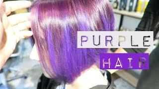 видео Яркие волосы. Фиолетовые / Розовые / Синие / Зеленые / Красные волосы