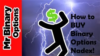 How to BUY Binary Options at nadex