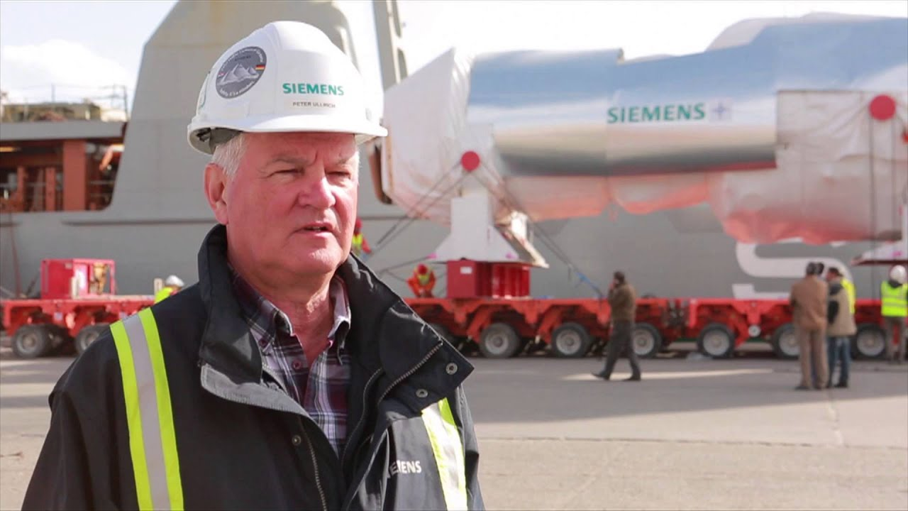 First Siemens H Class gas turbines arrive in Egypt