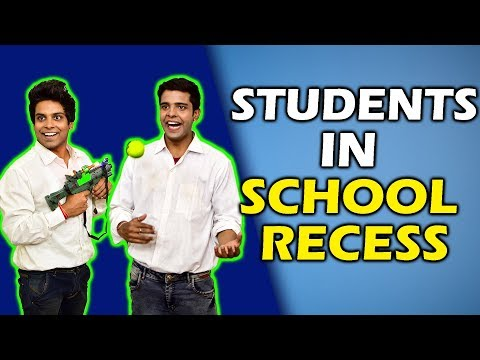 STUDENTS IN SCHOOL RECESS   The Half-Ticket Shows