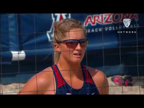Recap: California, Arizona and Arizona State beach volleyball claim wins during Day 1 of Wildcat...