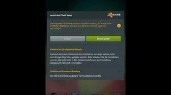 Avast Anti-Theft für Android einrichten