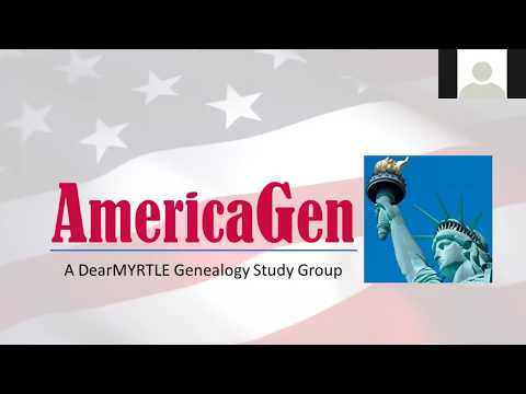 AmericaGen Study Group - Chapter 10 Family History On The Internet