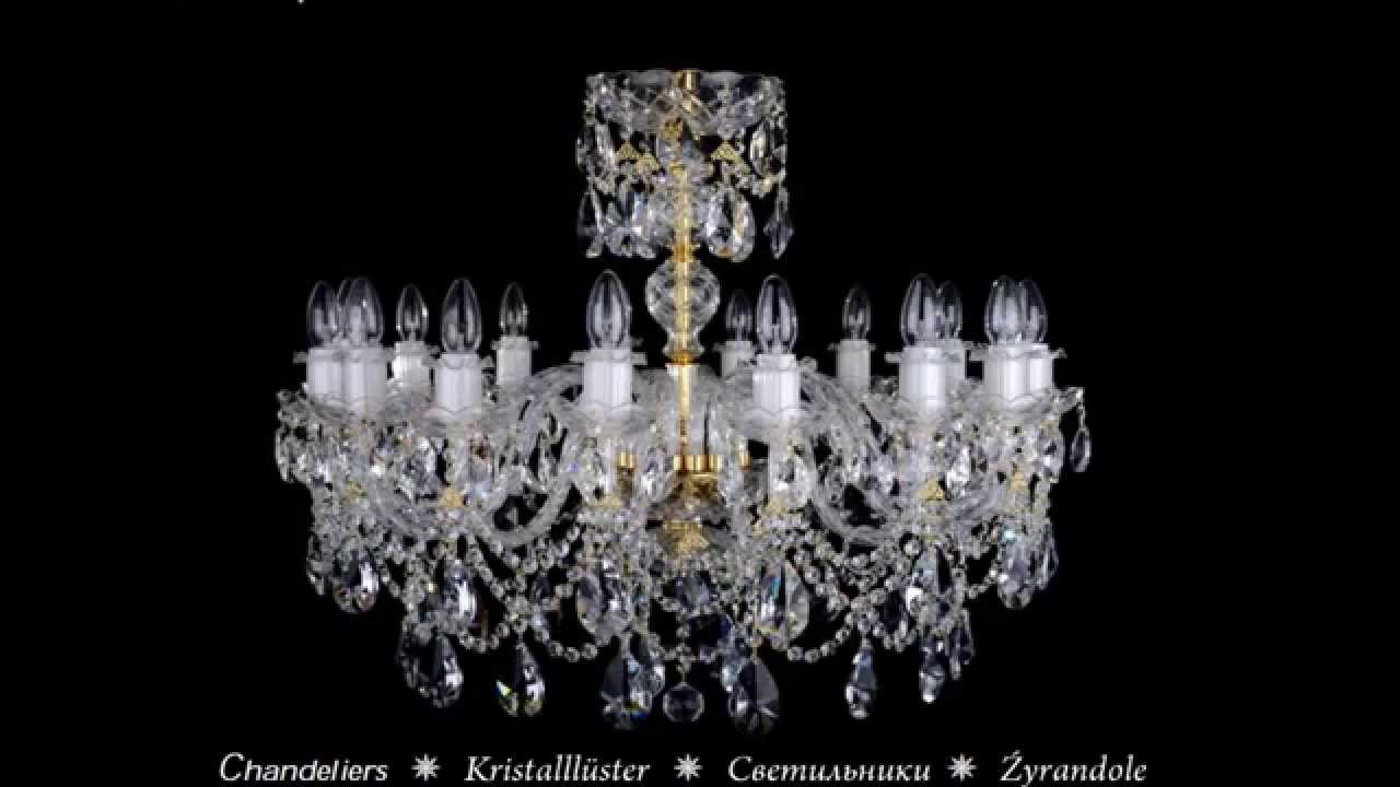Czech chandeliers crystal glassware lamps youtube aloadofball Images