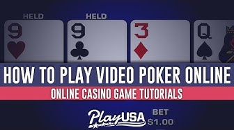 How to Play Video Poker Online | Online Casino Game Tutorials