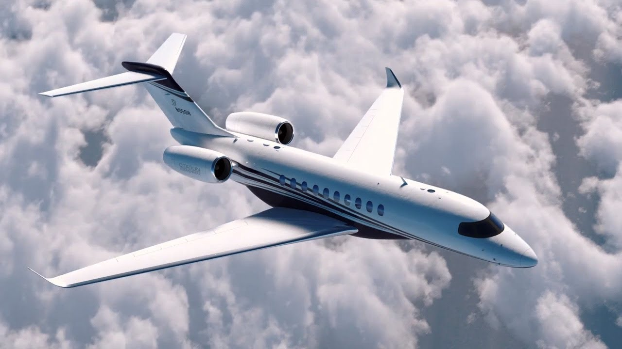 Preview tour of textron aviation s citation hemisphere for Large cabin business jets