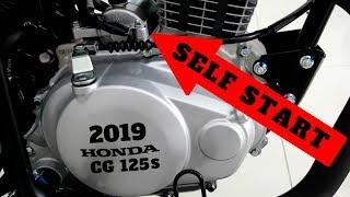 HONDA CG125 S MODEL 2019 WITH SELF START 5 GEARS & DIPPER FULL REVIEW SOON ON PK BIKES