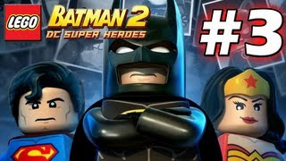 LEGO Batman 2 : DC Super Heroes Episode 3 - Arkham Asylum Antics (HD) (Gameplay)