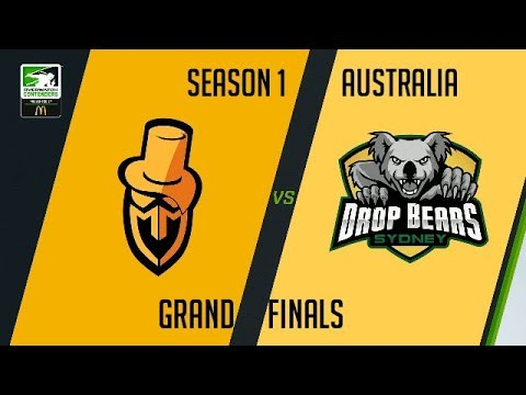 Sydney Drop Bears vs Masterminds - OW Contenders - Map 2