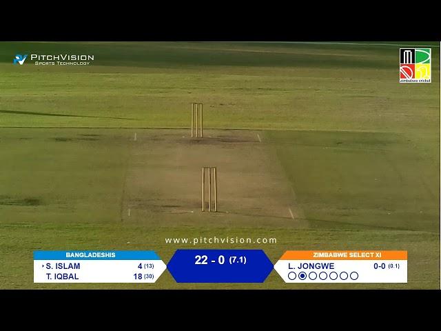 Zimbabwe Select XI vs Bangladeshis | 2 Day Warm-Up Match