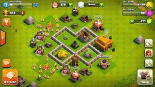 Clash of Clans - Best Town Hall 3 Defense! (Base Design)