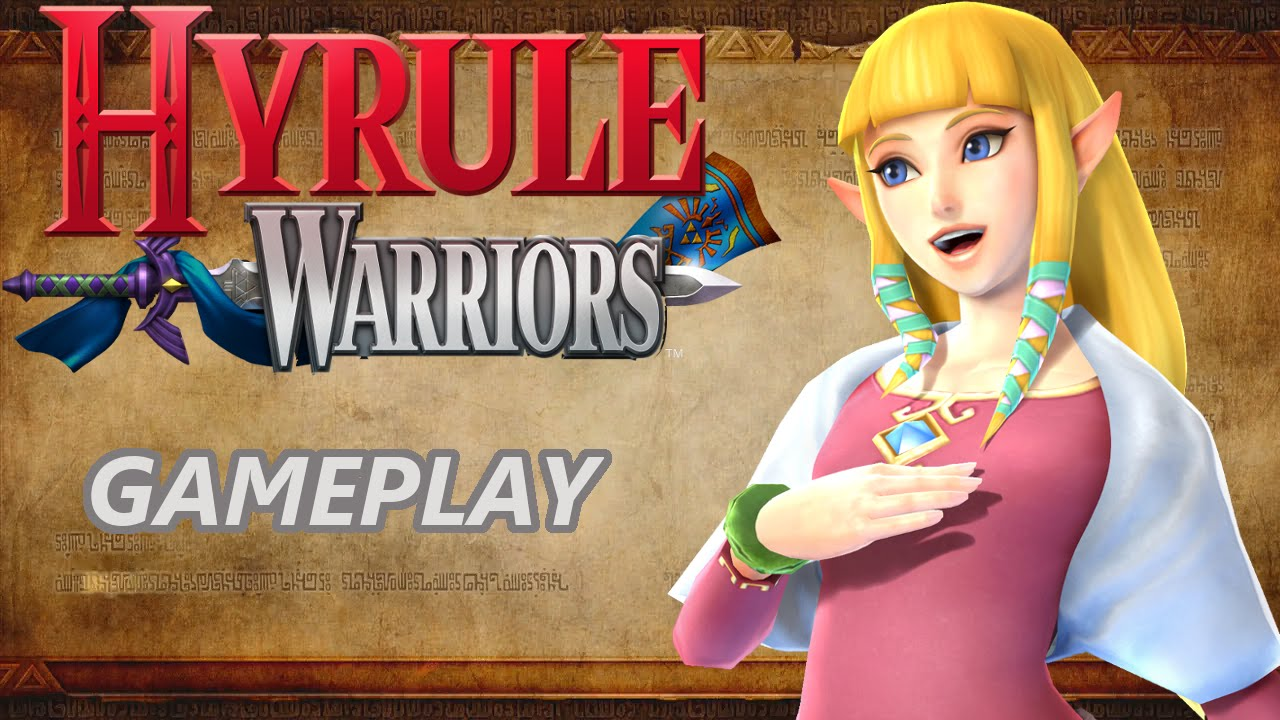 Hyrule Warriors Gameplay With Zelda Skyward Sword Costume And Wind Waker Weapon