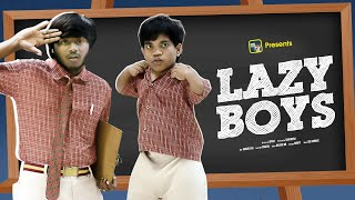 LAZY BOYS Ft. Gully Boy Riyaz || Latest Telugu Comedy Video || Ring Riyaz