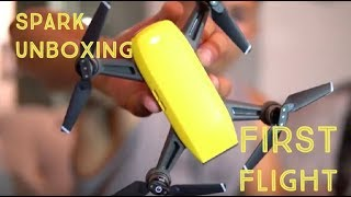DJI Spark Unboxing & Review