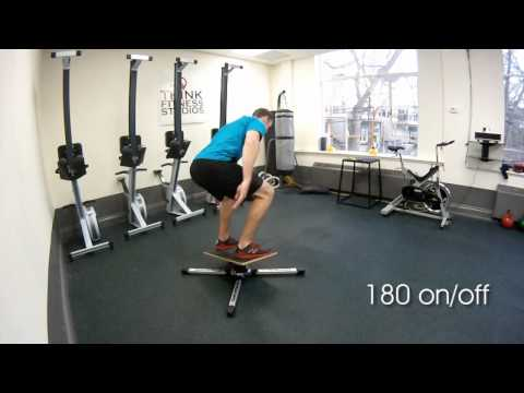 Video: Planche Gyroboard « Health & Fitness »