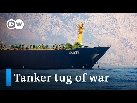 Gibraltar releases Iran oil tanker: Will US seize it anyway? | DW News