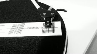 How to use a Cartridge Alignment Protractor (Stevenson, Baerwald, Loefgren)