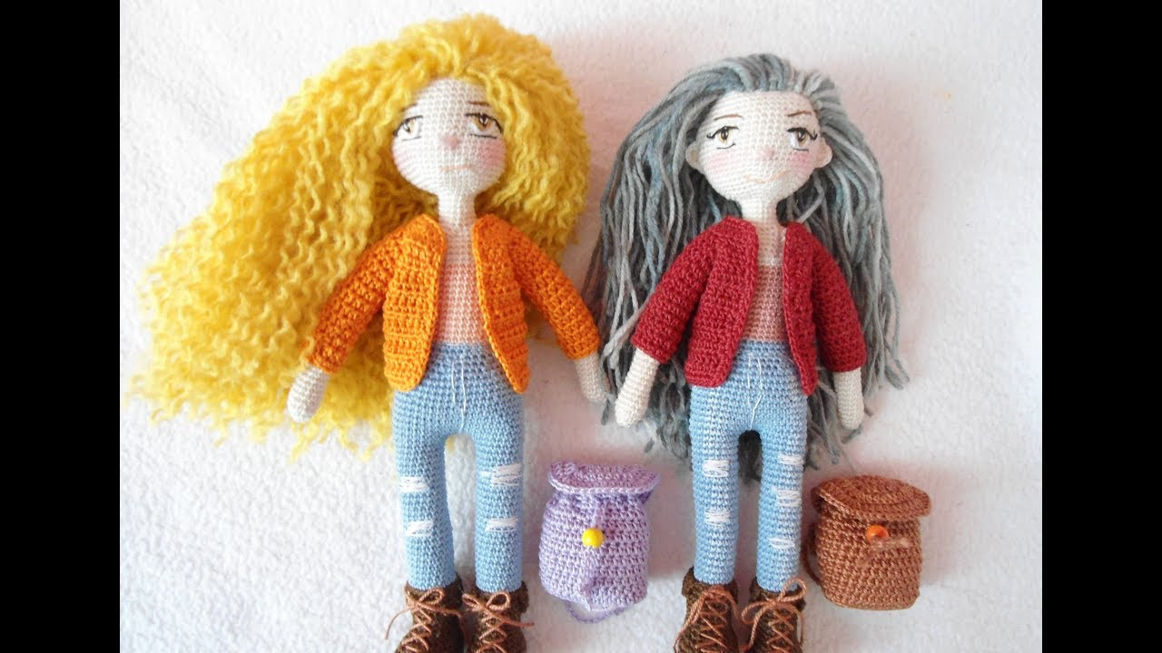 Tiny Doll Crochet How To Embroidery Doll Eyes Youtube