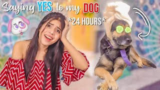 My DOG controls my LIFE for 24 Hours!! *and this is what happened* 🐶