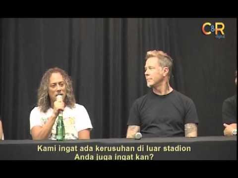 Kerusuhan 20 Tahun lalu Masih Diungkit Personil Metallica