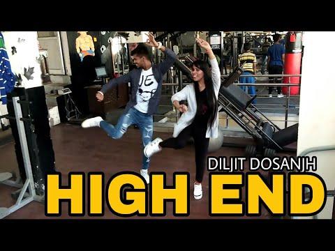 High End Confidential | Diljit Dosanjh | Bhangra Performance