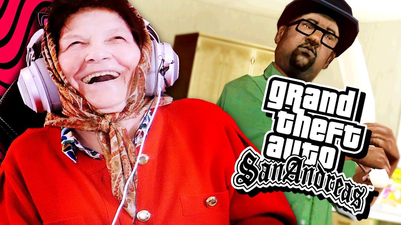 my babushka plays GTA 5...(mods)
