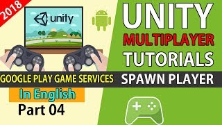 Unity Real Time Multiplayer Google Play Game Services Network Spawn [04]