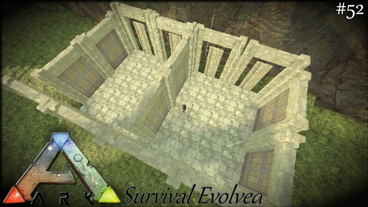 how to build a great easy taming pen ark survival evolved e52