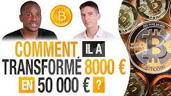 BITCOIN : Comment il a TRANSFORMÉ 8000 EUROS en 50 000 EUROS ? (CRYPTO-MONNAIES) -  XOLALI ZIGAH