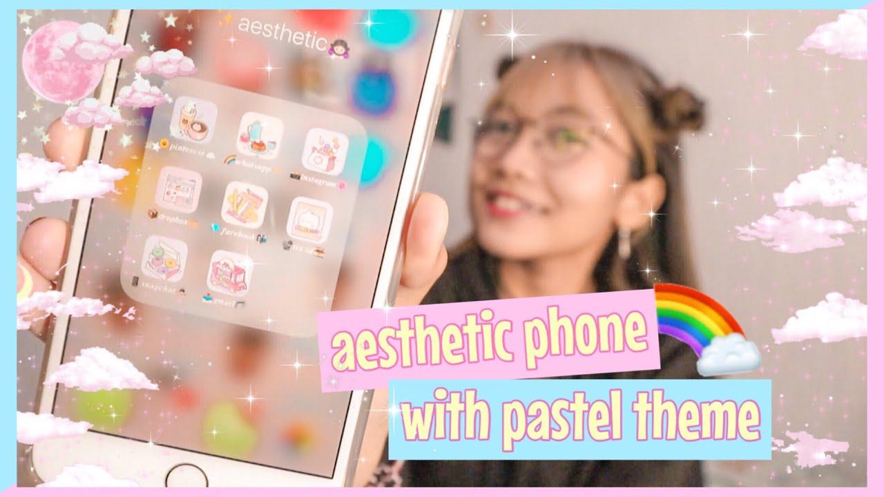 Cara Mengubah Tampilan Handphone Menjadi Aesthetic Theme Youtube