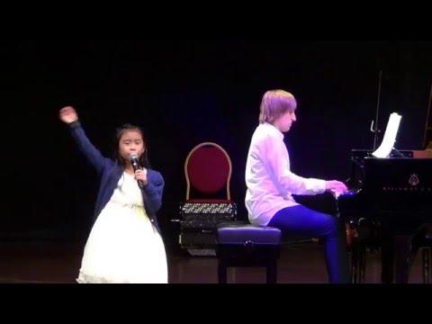 Jamei singing My Favorite Things at Abu Dhabi National Theater on 6Dec2015