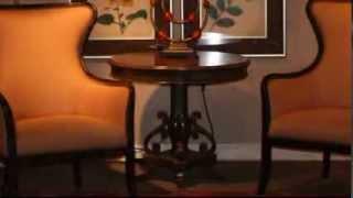 Uttermost 25508 Mango Wood Round Pedestal Table