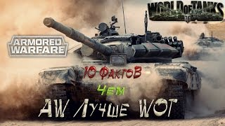 Чем Armored Warfare  лучше  World of Tanks - 10 Фактов.