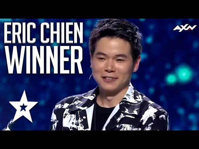 GREATEST MAGICIAN! WINNER Eric Chien All MAGIC Auditions & Performances On Asia's Got Talent 2019