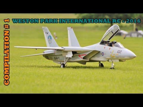 WESTON PARK INTERNATIONAL RC FLIGHTLINE COMPILATION # 1 - GIANT SCALE MODELS - 2016