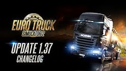 Changelog for ETS2 Update 1.37