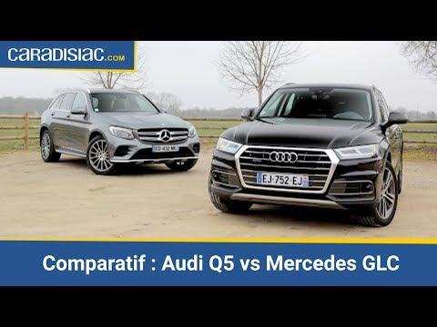 Comparatif 2017 Audi Q5 vs Mercedes GLC