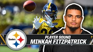 After practice on wednesday, minkah fitzpatrick spoke to the media about fitting in with team and adjusting pittsburgh#pittsburghsteelers #steelers #n...