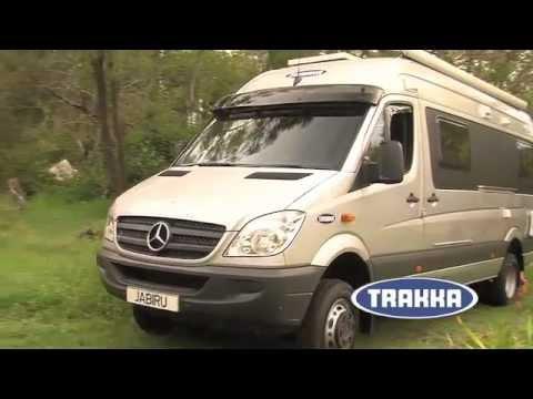Trakka jabiru 4x4 motorhome youtube for Mercedes benz sprinter 4x4 motorhome